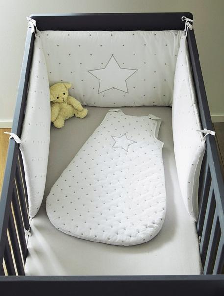 Meubles & Linge de lit-Linge de lit Bébé-Parure de lit Bebe gigoteuse  Pluie d'etoiles