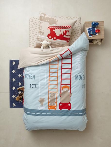 Meubles & Linge de lit-Linge de lit Enfant-Parures de lit enfant-Parure de lit enfant Pompier