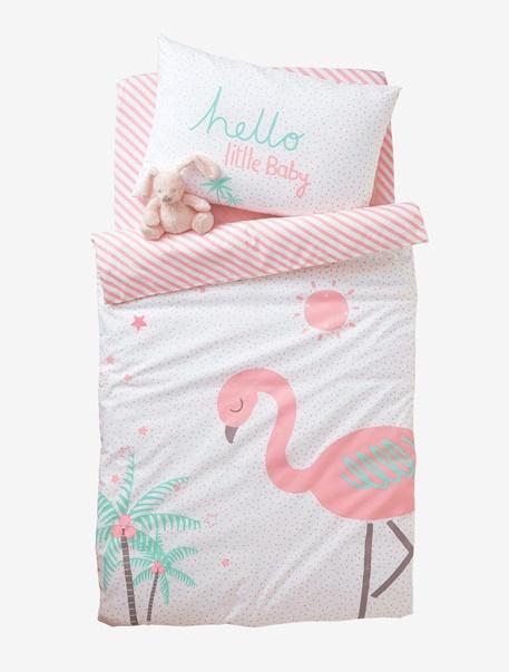 Meubles & Linge de lit-Linge de lit Bébé-Parure de lit Bebe Rose Sorbet