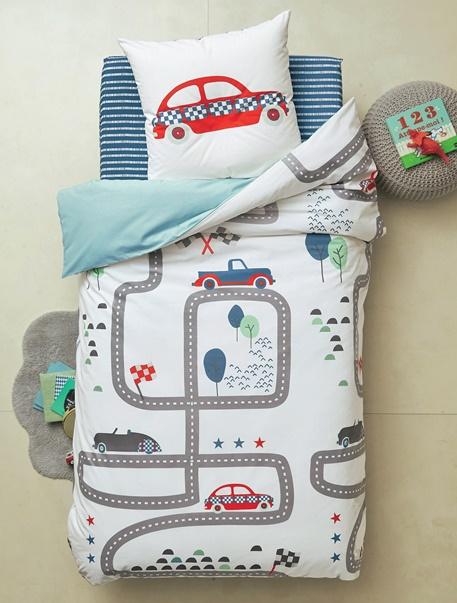 Meubles & Linge de lit-Linge de lit Enfant-Parures de lit enfant-Parure de lit enfant Course