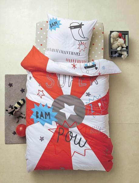 Meubles & Linge de lit-Linge de lit Enfant-Parures de lit enfant-Parure de lit enfant Super heros