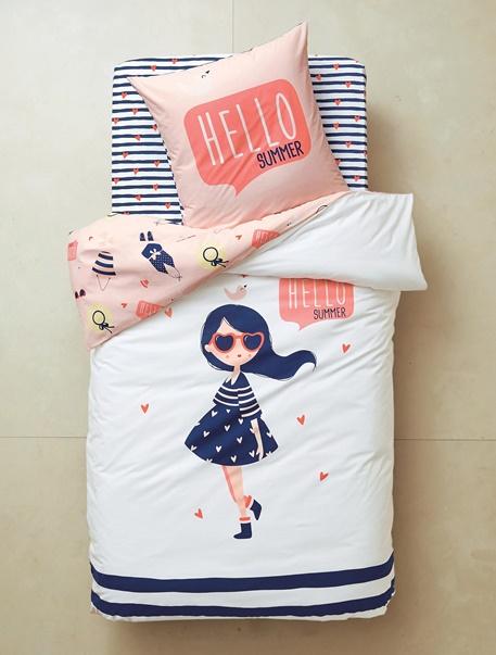 Meubles & Linge de lit-Linge de lit Enfant-Parures de lit enfant-Parure de lit enfant Mademoiselle Hello