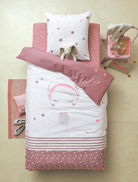 Meubles & Linge de lit-Linge de lit Enfant-Parures de lit enfant-Parure de lit enfant Princesse