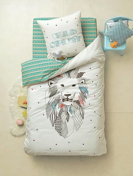 Meubles & Linge de lit-Linge de lit Enfant-Parures de lit enfant-Parure de lit enfant Lion