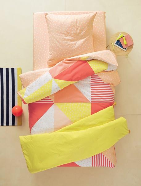 Meubles & Linge de lit-Linge de lit Enfant-Parures de lit enfant-Parure de lit enfant Colorpatch
