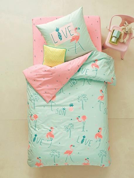 Meubles & Linge de lit-Linge de lit Enfant-Parures de lit enfant-Parure de lit enfant Flamand d'�t�