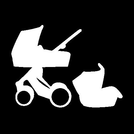 Piktogramm kombi-kinderwagen