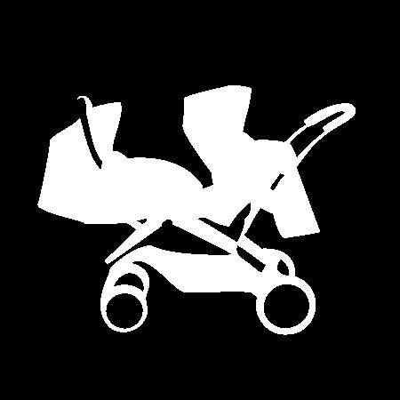 Piktogramm Geschwister-kinderwagen