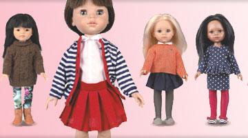 Des poupées du monde entier...