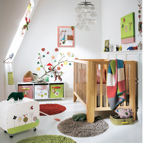 deko idee babyzimmer. Black Bedroom Furniture Sets. Home Design Ideas