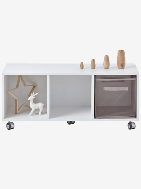 kinderzimmer sideboard mit rollen weiss deko aufbewahren. Black Bedroom Furniture Sets. Home Design Ideas