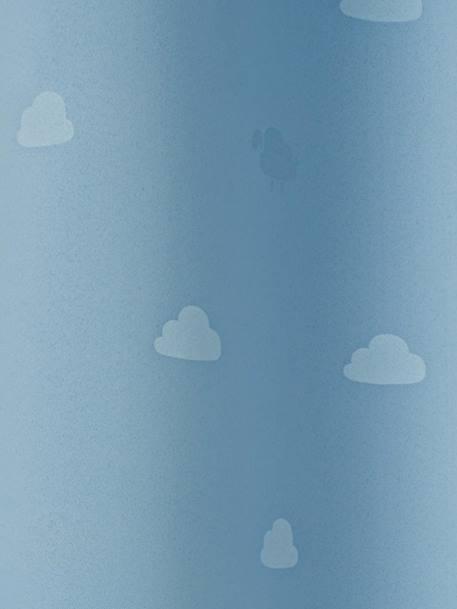 verdunkelungsvorhang mit wolken und schafen deko aufbewahren. Black Bedroom Furniture Sets. Home Design Ideas
