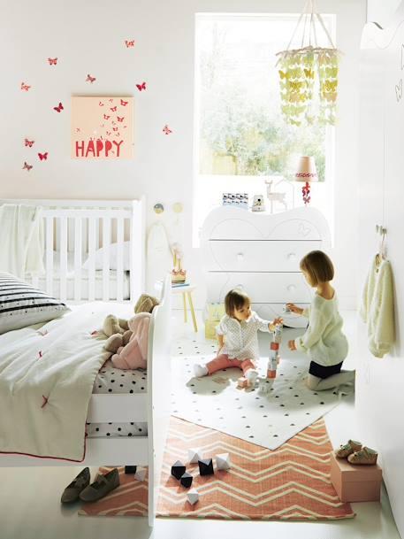 Lot de 14 décors papillons chambre fille - multicolore, Rangement ...