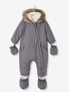 Baby-Mantel, Overall, Ausfahrsack-Baby Winter-Overall mit Fleecefutter