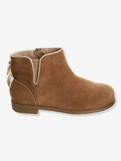 Chaussures-Chaussures fille 23-38-Boots cuir fille