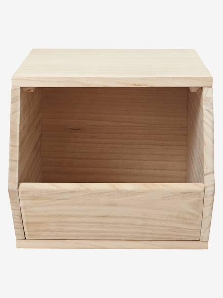 holz aufbewahrungsbox f r spielzeug natur deko aufbewahren. Black Bedroom Furniture Sets. Home Design Ideas