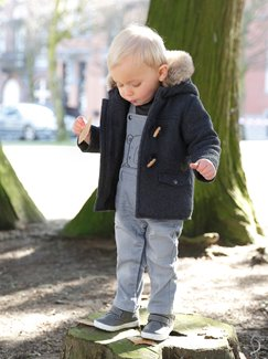 Baby-Lookbook -Sanfte Grautöne