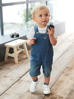 Baby-Lookbook -Denim & Karos