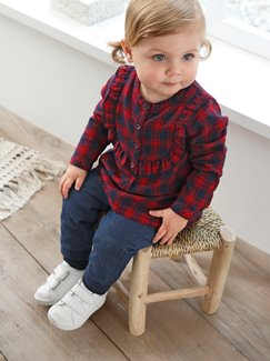 Baby-Lookbook -Schottenkaros