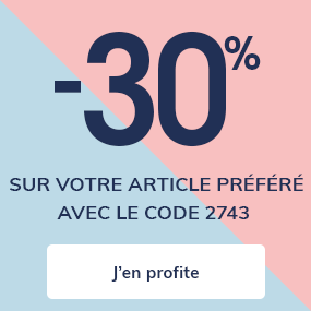 Nouvelle collection - 30 %  sur votre article préféré*