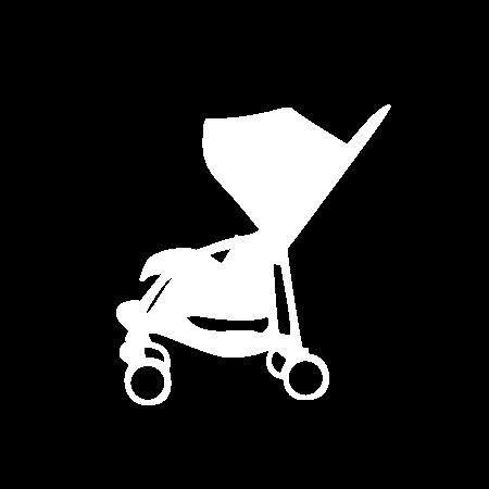 Piktogramm Komfort-kinderwagen