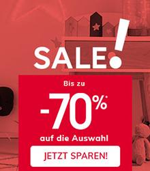 Sale! Bis zu -70%
