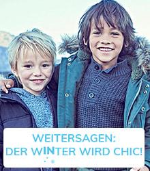 Weitersagen: der winter wird chic!