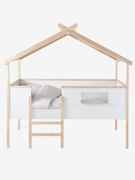lit cabane robinson blanc