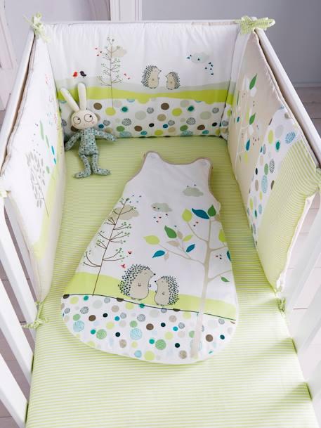 Tour de lit bébé brodé thème Pic-nic - multicolore, Meubles et linge ...