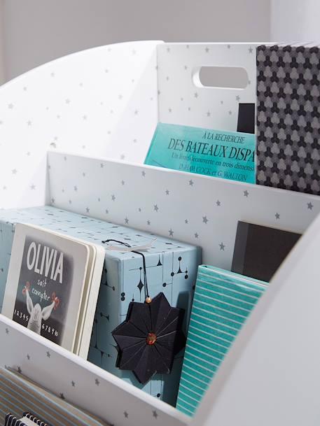b cherregal sirius f r kinderzimmer wei grau deko. Black Bedroom Furniture Sets. Home Design Ideas