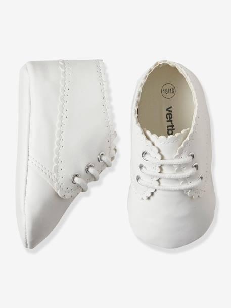 prix modéré prix pas cher meilleur pas cher Bottines souples bébé mixte nouveau né - blanc, Chaussures