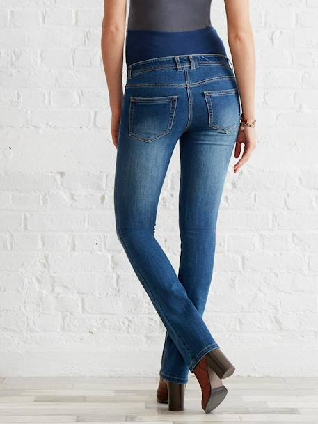 Bootcut-Umstandsjeans Blue Stone