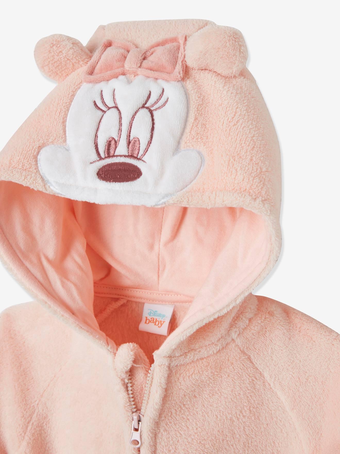 Kinder Mädchen Minni Maus Kapuzen Pullover SweatShirt Hoodie Kostüm Mit 3D Ohren