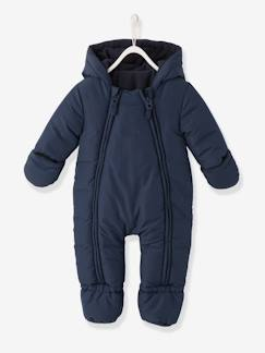 Baby-Mantel, Overall, Ausfahrsack-Overall-Baby Winteroverall mit Kapuze