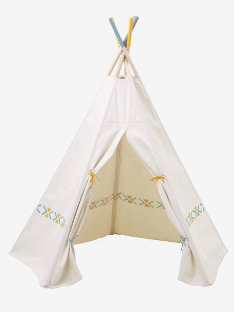 tipi indianerzelt f r kinder deko aufbewahren. Black Bedroom Furniture Sets. Home Design Ideas