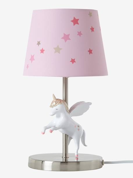 kinder nachttischlampe mit einhorn deko aufbewahren. Black Bedroom Furniture Sets. Home Design Ideas