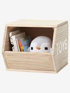 Boîte et panier de rangement chambre bébé et enfant Bois - Rangement ...
