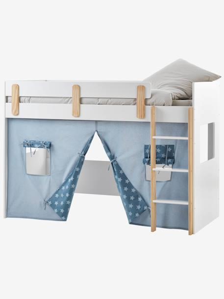 Tente pour lit mezzanine mi-hauteur LIGNE EVEREST, Meubles et ...