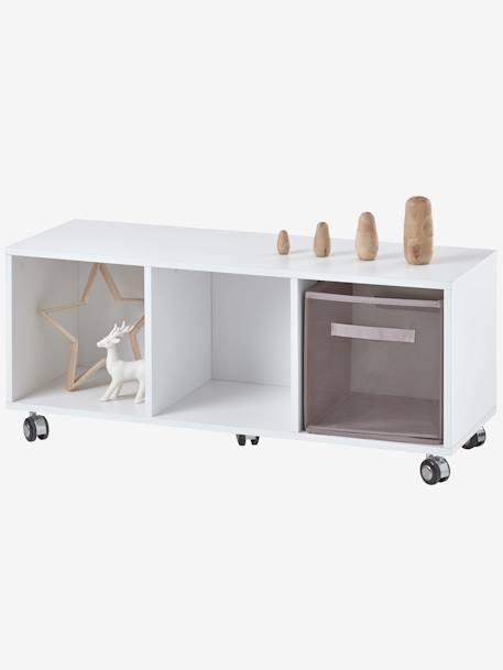 kinderzimmer sideboard mit rollen weiss deko aufbewahren. Black Bedroom Furniture Sets. Home Design Ideas