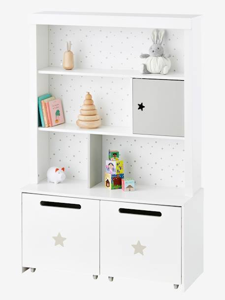 hohes kinderzimmer regal sirius weiss deko aufbewahren. Black Bedroom Furniture Sets. Home Design Ideas