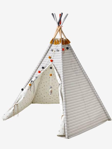 Kinderzimmer tipi wendbar deko aufbewahren for Kinderzimmer tipi