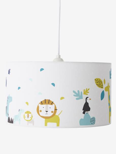 Lampenschirm Dschungel Fur Kinderzimmer Mehrfarbig Deko