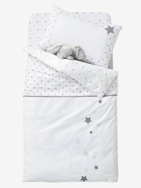 baby kissenbezug sternenregen wendbar m bel bettw sche. Black Bedroom Furniture Sets. Home Design Ideas