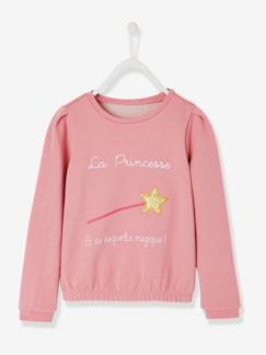 Fille-Sweat-Sweat manches longues