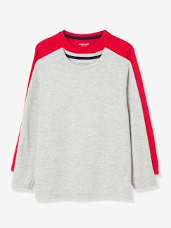 Garçon-T-shirt, polo, sous-pull-Lot de 2 T-shirts