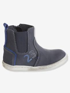 Soldes Hiver-Chaussures-Boots cuir garçon collection maternelle