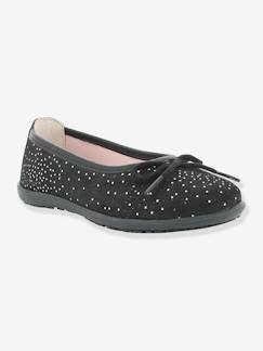Chaussures-Chaussures fille 23-38-Ballerines, babies-Ballerines fille Edina KICKERS® effet paillettes