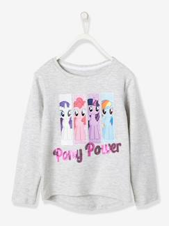 Tous leurs héros-T-shirt fille my little pony® inscription sequins