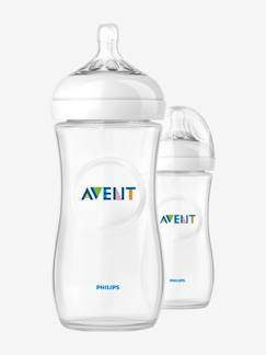 Puériculture-Repas-Lot de 2 biberons 330 ml Philips AVENT Natural sans BPA