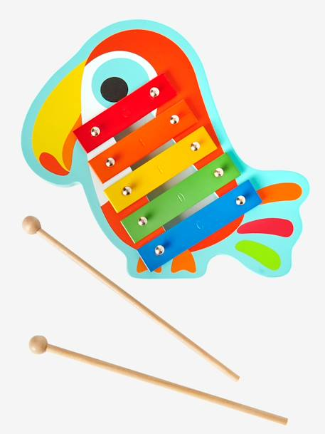 Xylophone toucan Multicolore
